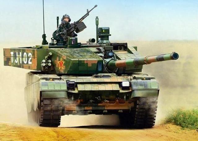 如今的解放军99a主战坦克,综合实力已是世界先进水平