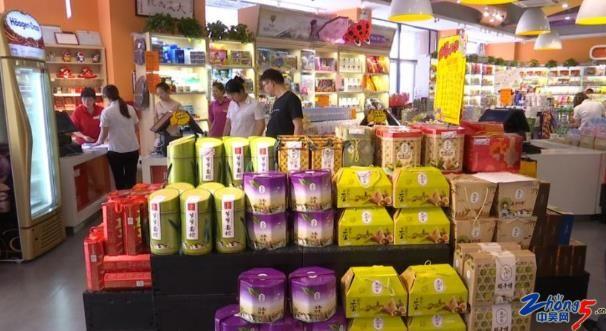 常州成品粽吹起简朴风粽子市场供销两旺