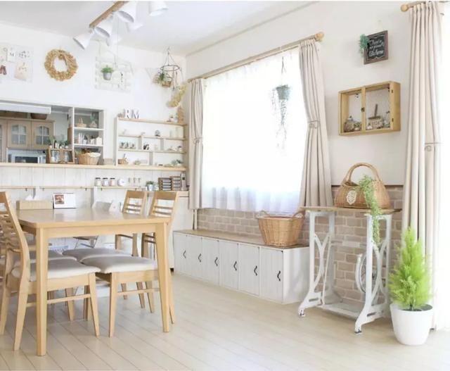 日本妈妈ins分享自家装修风格,这种日系小清新让无数网友想要!