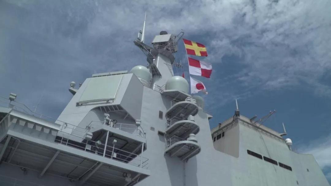 首艘国产航母部分内景向外界公开