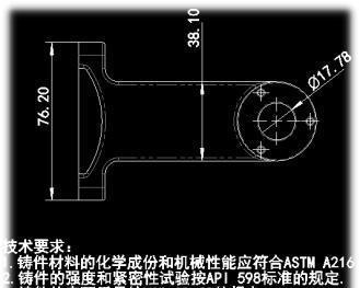 SOLIDWORKS要塞图导出DWG图纸时字体处图纸怎么获得工程图片