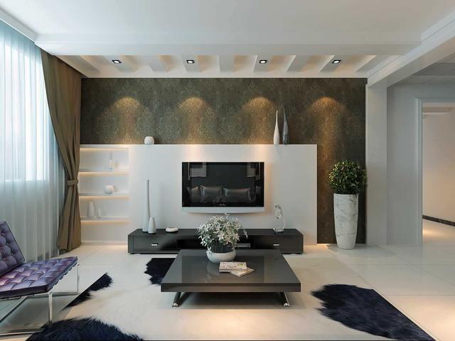 简约电视背景墙设计 电视背景墙设计注意事项