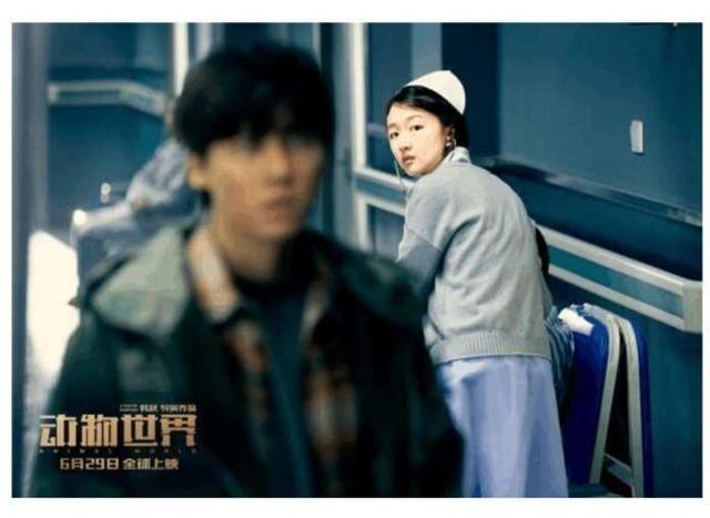为新电影《动物世界》做起了宣传,看来周冬雨与李易峰对这次的合作
