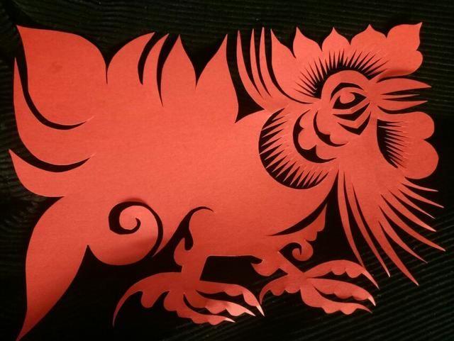 翅膀剪纸图案大全
