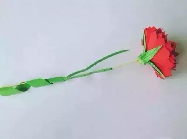 母亲节最环保和最走心的礼物康乃馨手工折纸get起来