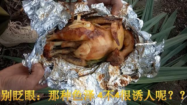 最适合美女在野外制作的叫化鸡 重点是:干净、