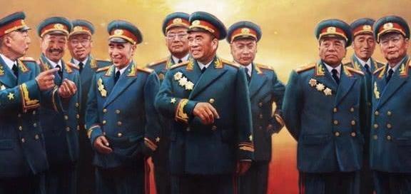 十大元帅排名_十元帅十大将上将排名