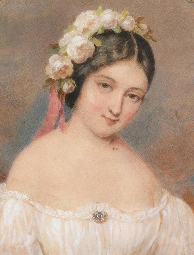 18世纪欧洲宫廷贵妇人物绘画作品欣赏 哈哈哈 第4张