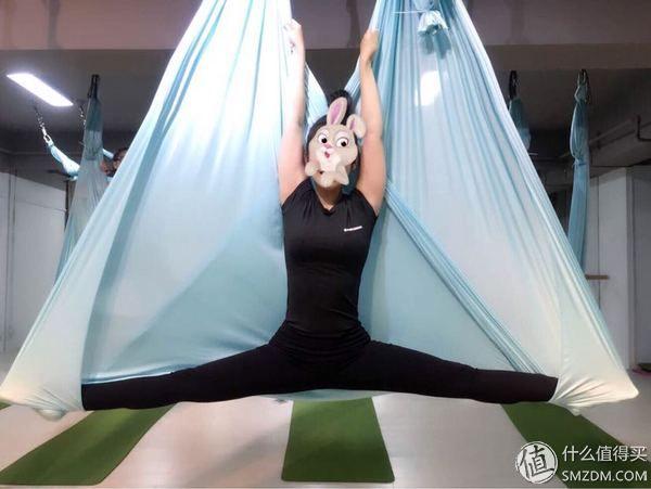 全民运动季#【减肥健身】性感身材塑形之路:真人演示告诉你,空中瑜伽