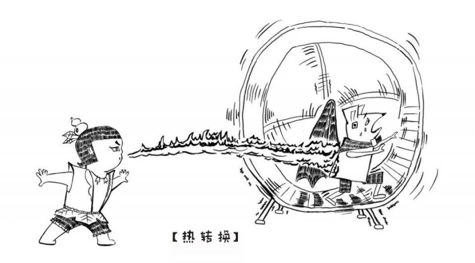 几张漫画看懂,是发动机热效率?的粉红色肖邦漫画图片