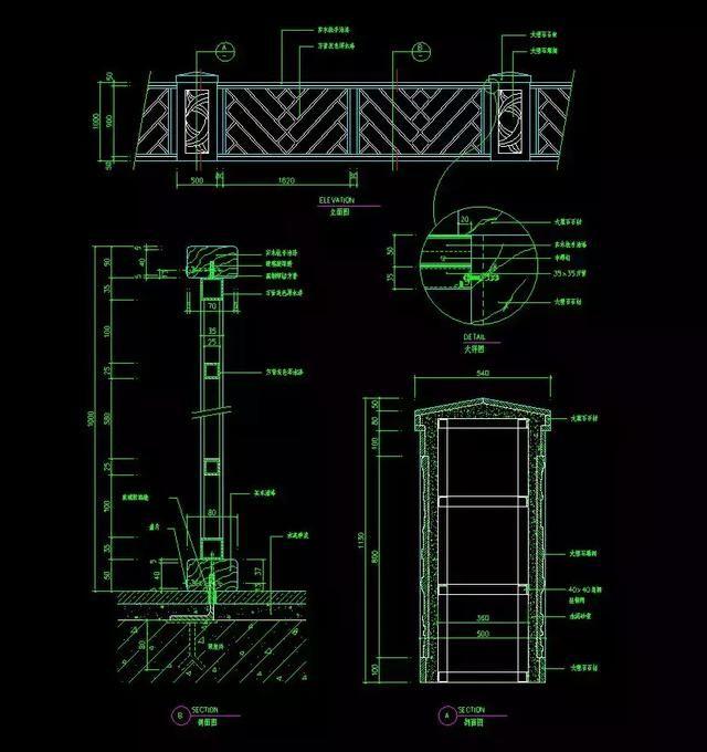 室内设计特性:120套资源详细CAD施工图+CAcad2010楼梯表图片
