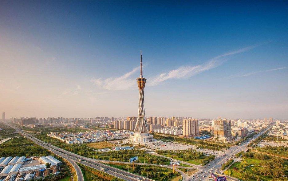 中国的全球最高全钢结构发射塔