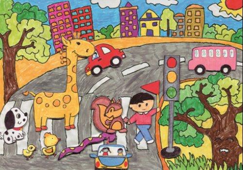 一汽丰田梦想之车全球儿童绘画大赛招募图片