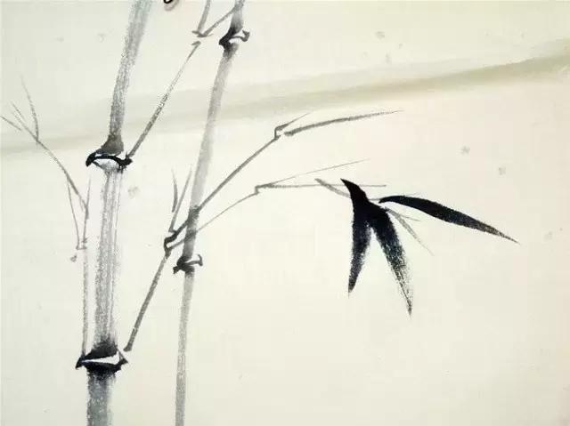快速掌握水墨竹子画法