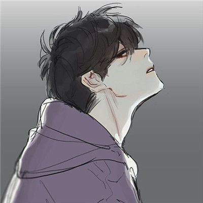 帅气头像男生背影阳光动漫头像精选