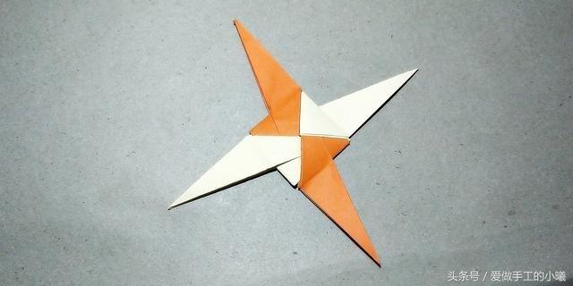 简单飞镖折纸教程,几步就完成!