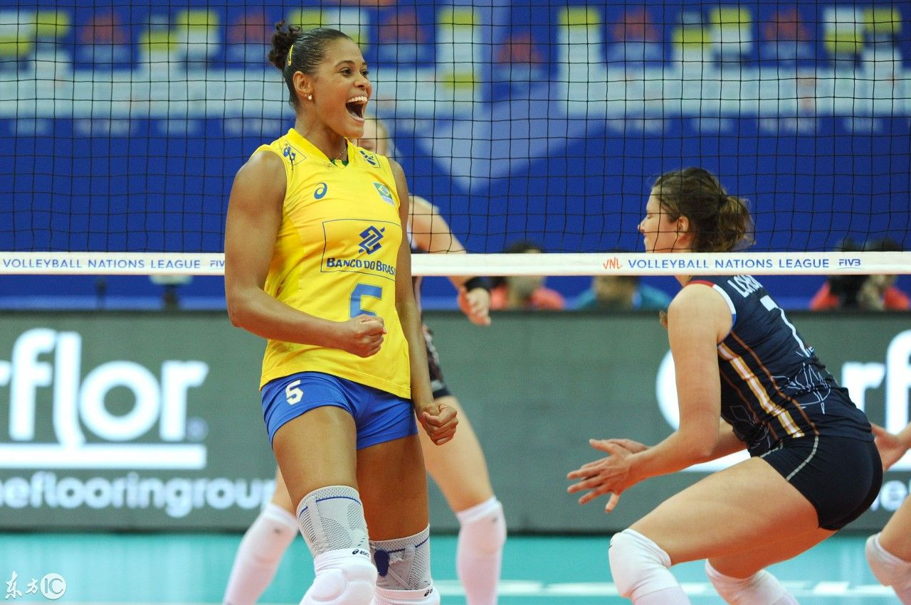 2018世界女排联赛总决赛,巴西VS荷兰
