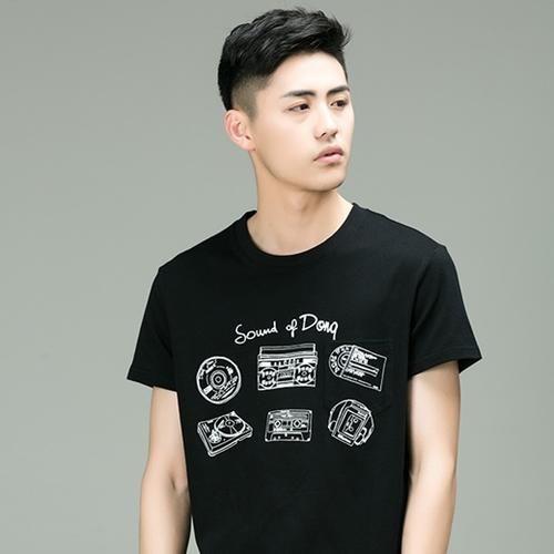 2018潮流烫发男生款式2018发型发型男生中发流行韩式显小图片