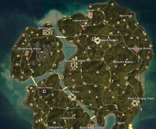 绝地求生海岛地图资源在哪里?绝地求生海岛地图资源分布