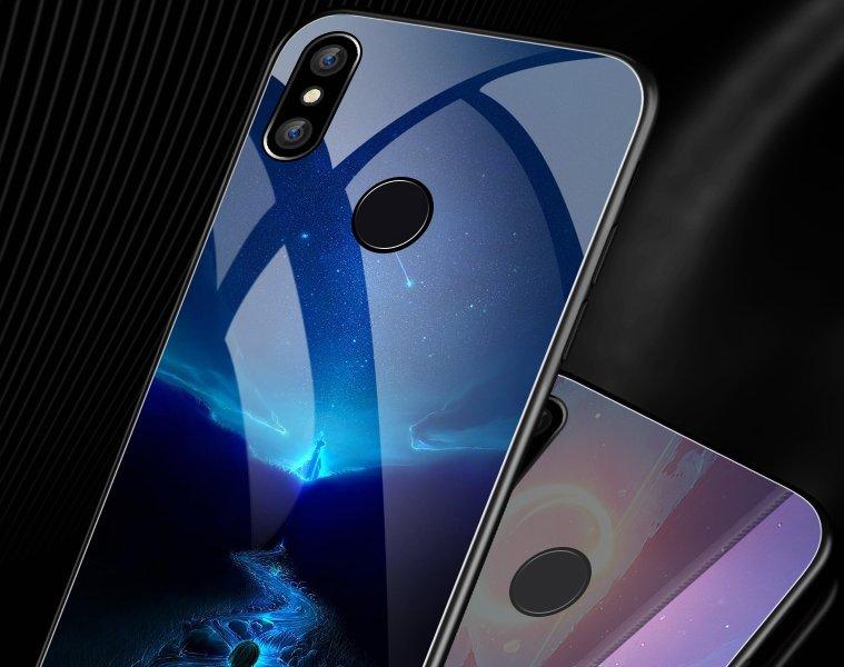 好看的玻璃手机壳,专为小米8量身定制,软变全包设计加上高颜值图案