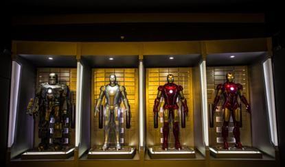 漫威宇宙特展上海站开幕 14位超级英雄悉数亮相