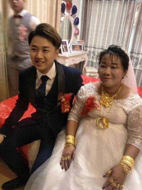 23岁小伙迎娶38岁富婆,人生少奋斗二十年,这种逆袭你怎么看图片