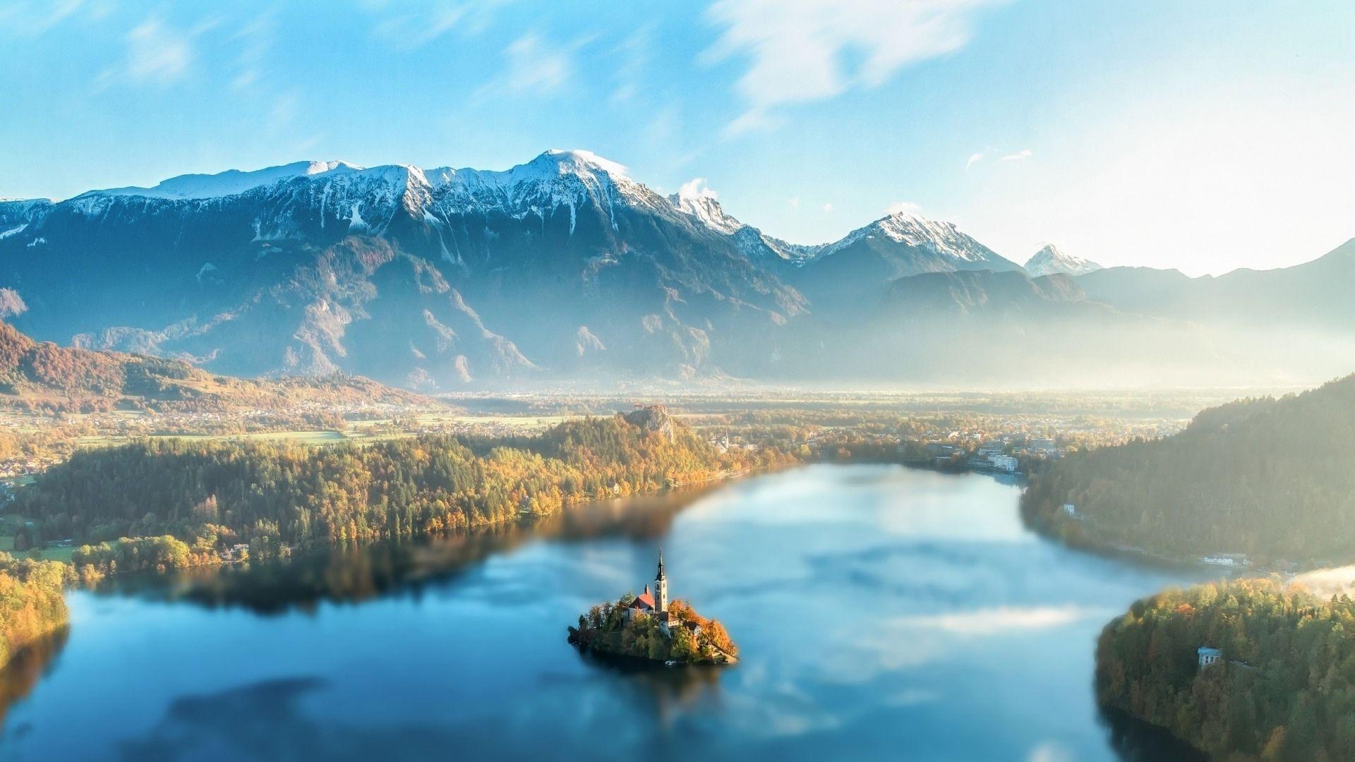 斯洛文尼亚自然风景图片高清桌面壁纸