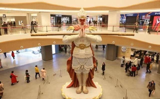 美猴王又在中国火了7米高雕塑突现西安成网红但这次不叫悟空 行业新闻 丰雄广告第1张