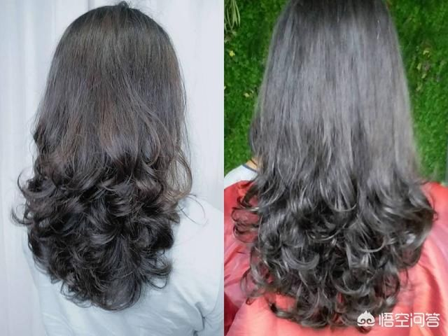 烫发四五十岁长发a长发又有发型的中卷适合型号魅蓝note6的充电头弹性图片
