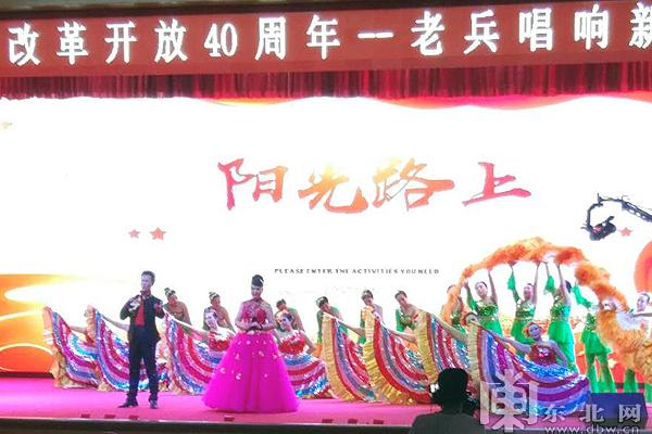 纪念改革开放40周年老兵唱响新时代公益晚会上演.图片
