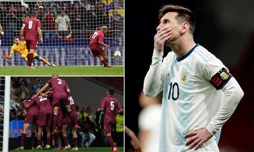 主帅迷之用人坑惨阿根廷史上第二次输委内瑞拉