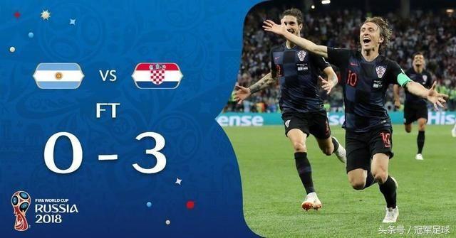阿根廷vs克罗地亚复盘:腰无力,梅西承担太多