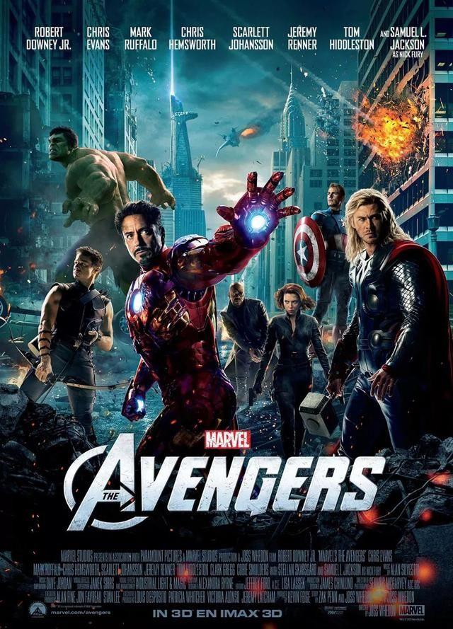 (一幅海报里,几个角色单独命名的系列也都是热闹的票房之作——钢铁侠
