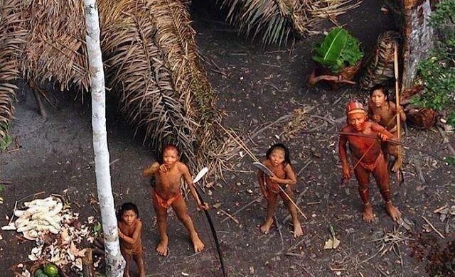 亚马逊森林发现原始部落,距今6万年,到处都是死婴!