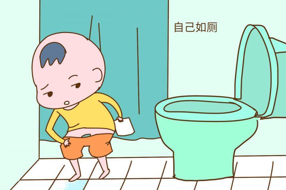 幼儿如厕注意事项图解