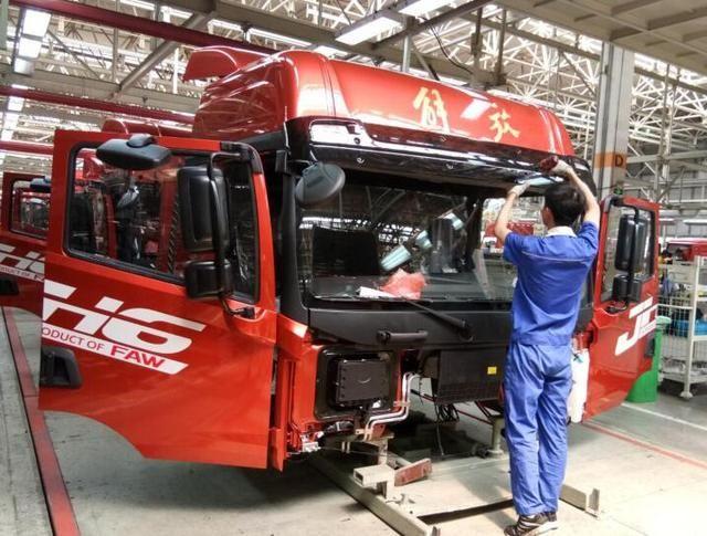 一汽解放青岛工厂上半年营业收入达165.28亿元