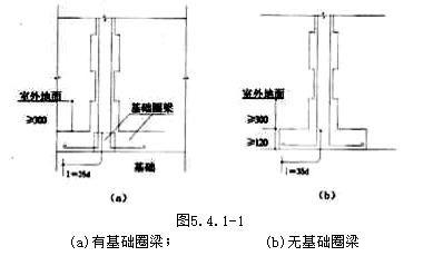 技术交底砖混,外砖内模结构构造柱,圈梁,板缝钢筋绑扎