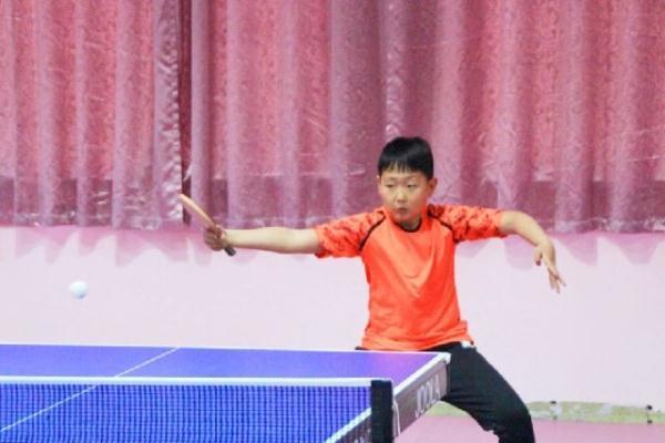 劲爆体育季度杯乒乓球少儿赛落幕踿跹和秋千图片