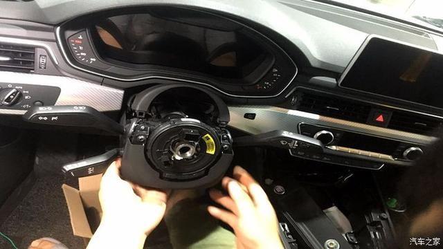 奥迪a4l加装奥迪r8多功能运动方向盘