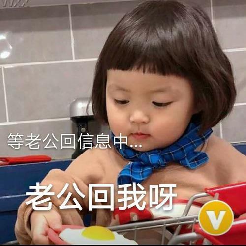萌娃敲可爱表情:只要你乖给你买条gai,不聊天如何跟表情图片包傻子图片