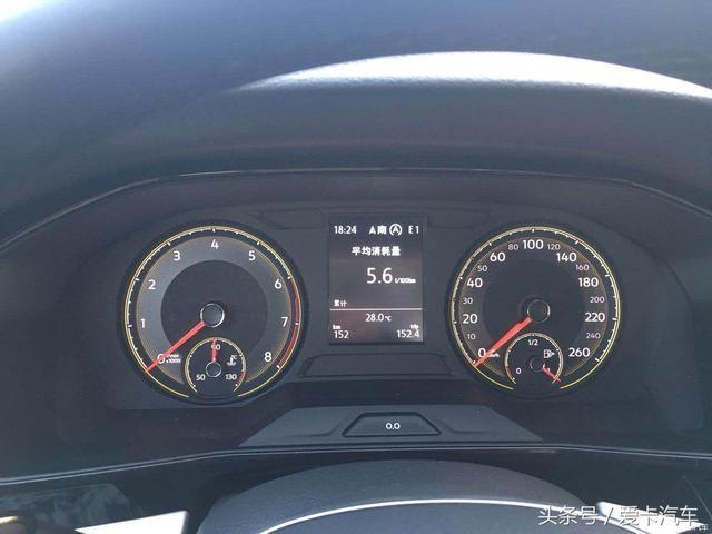 提车朗逸plus 280豪华版,油耗低至5.6!