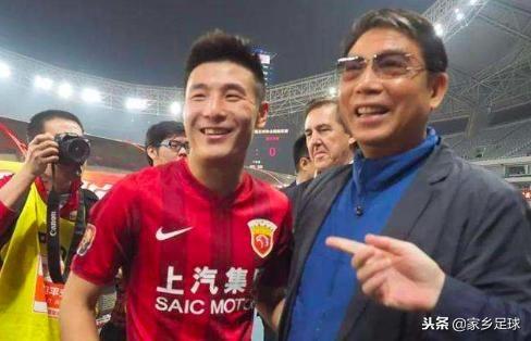 上港夺冠,74岁教父寄语武磊