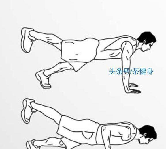 6种不同变化形式的俯卧撑训练动作,练出强壮上