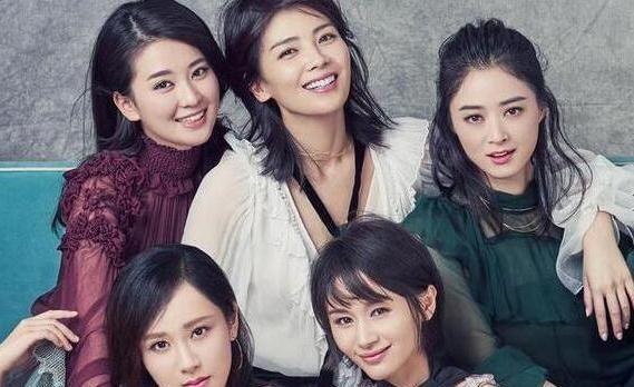 欢乐颂五美古装造型,刘涛多温婉,杨紫的冷艳不亚于华妃娘娘