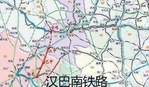 陕西四川这条扶贫铁路路线出炉,年内开工,陕南川北受益最多
