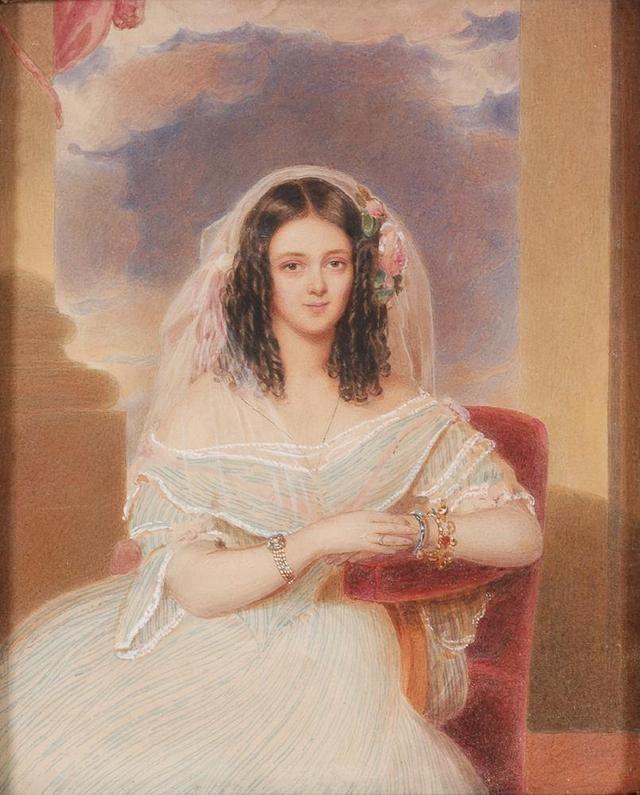 18世纪欧洲宫廷贵妇人物绘画作品欣赏 哈哈哈 第3张