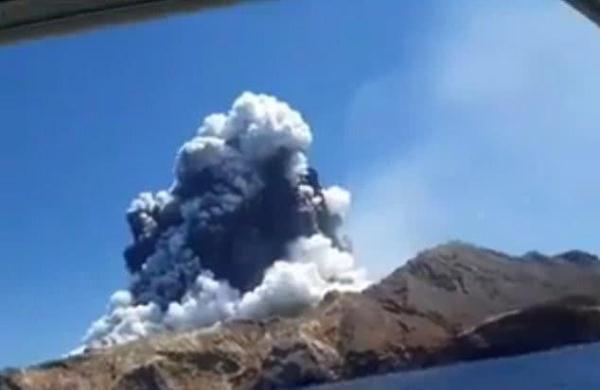 新西兰火山爆发影响