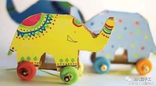 动物手工】动物园系列大象贺卡,手工,玩具,收纳袋满满