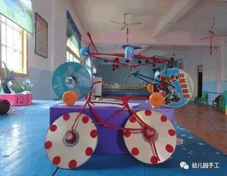 【手工玩教具】幼儿园小汽车手工制作,卫生纸筒制作小