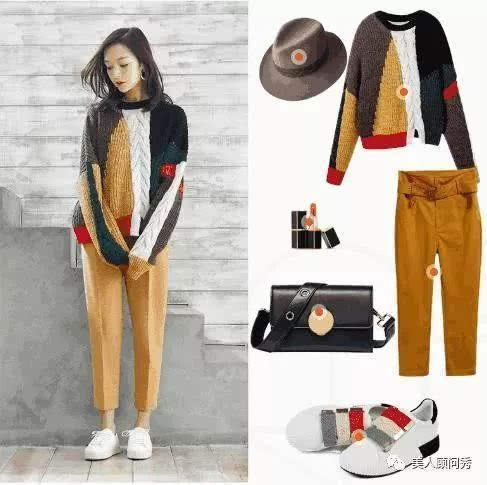 转载:秋冬季的时髦造型搭配,保暖毛衣,时尚好看又很富有美态!